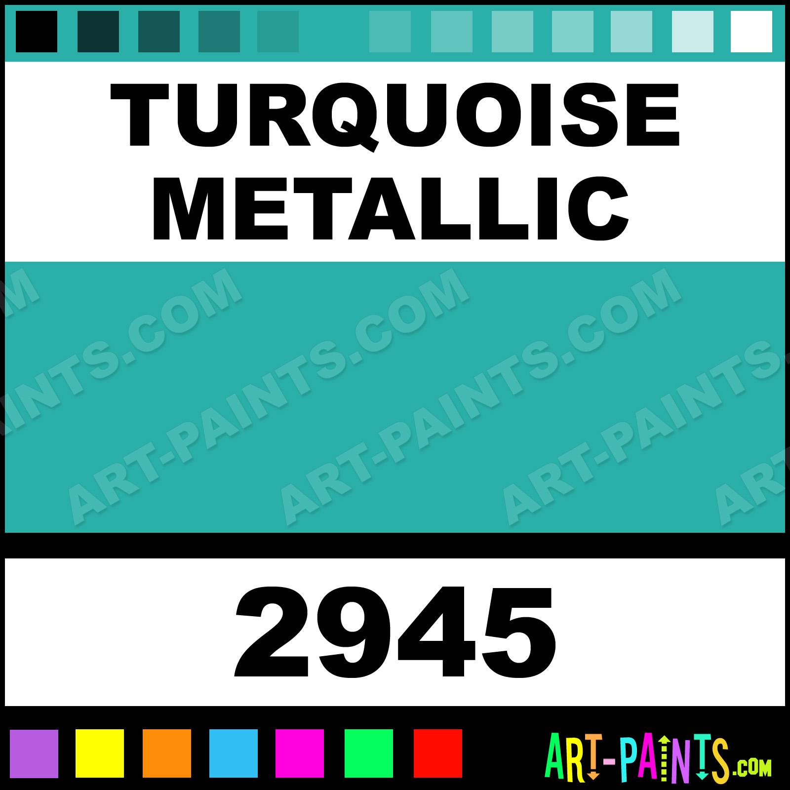 Green car paint colors - Turquoise Metallic Turquoise Metallic Paint