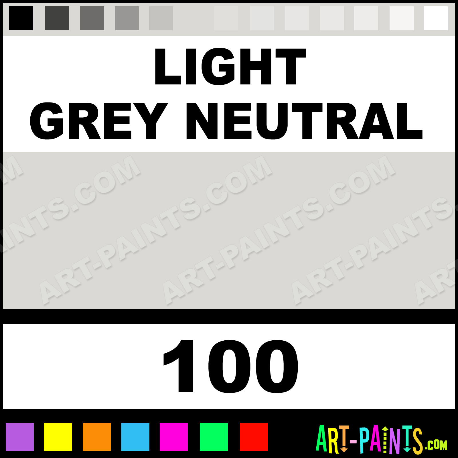 Light grey neutral high pressure spray paints 100 for Neutral light gray paint color