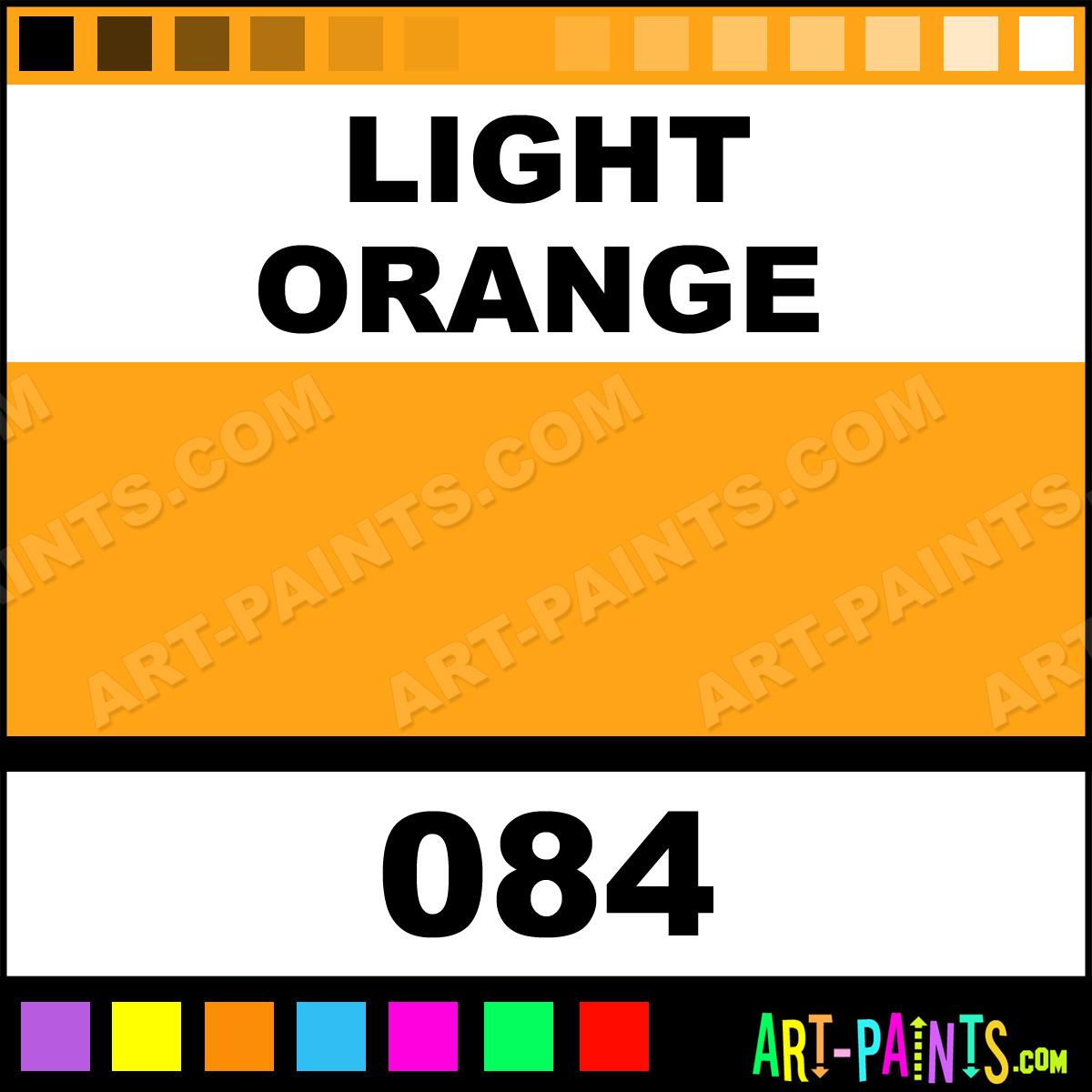 Light Orange High Pressure Spray Paints 084 Light
