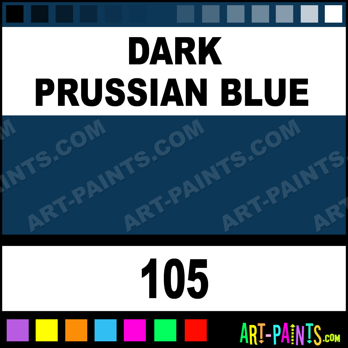 True Blue Paint Color Dark Prussian Blue Premium Spray Paints 105 Dark Prussian Blue