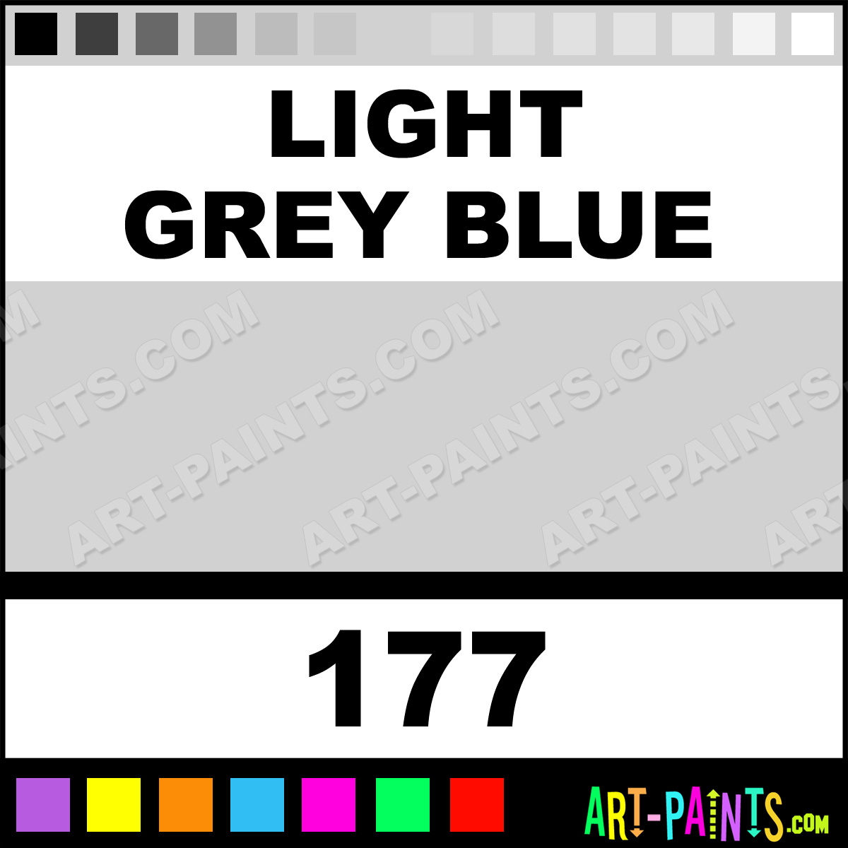 Light Blue Gray Paint Color 1200 x 1200