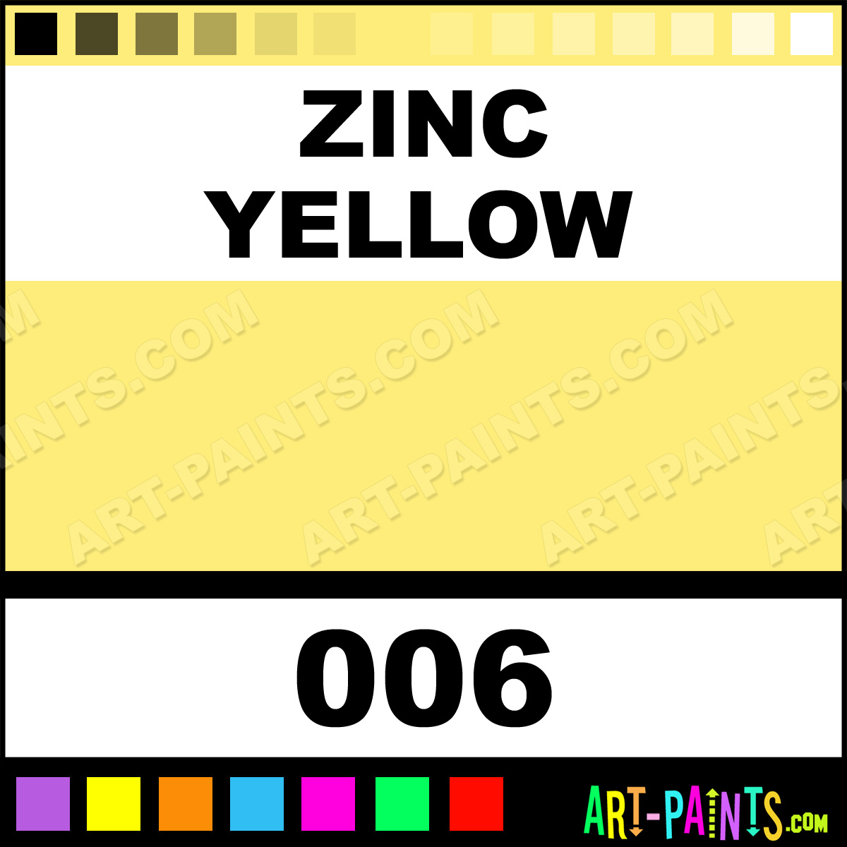 zinc yellow premium spray paints 006 zinc yellow paint