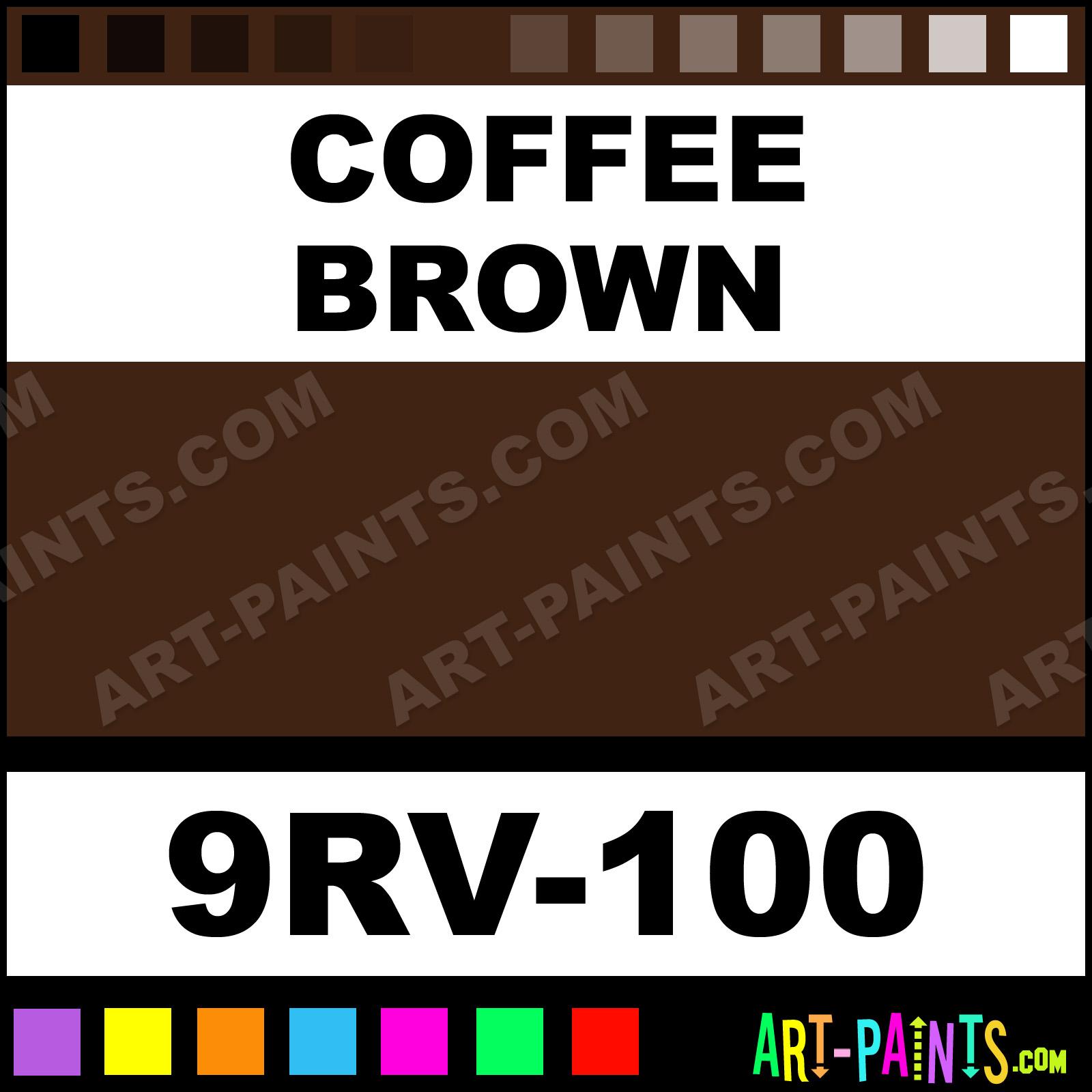 Coffee Brown Paint
