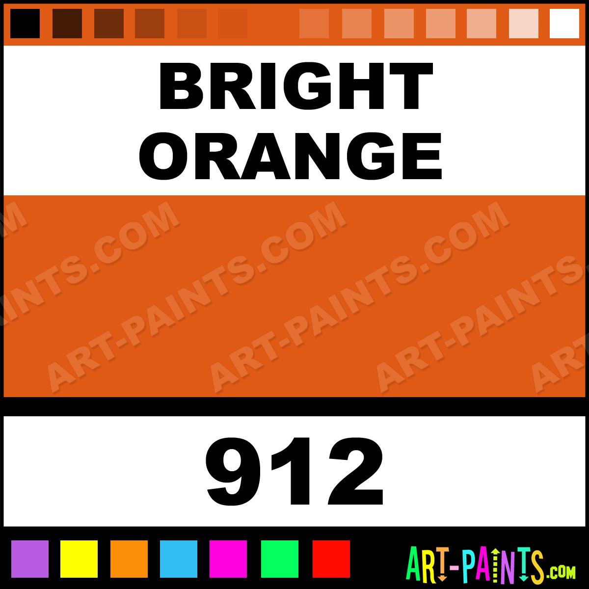 Bright Orange Heavy Duty Auto Spray Paints 912 Bright