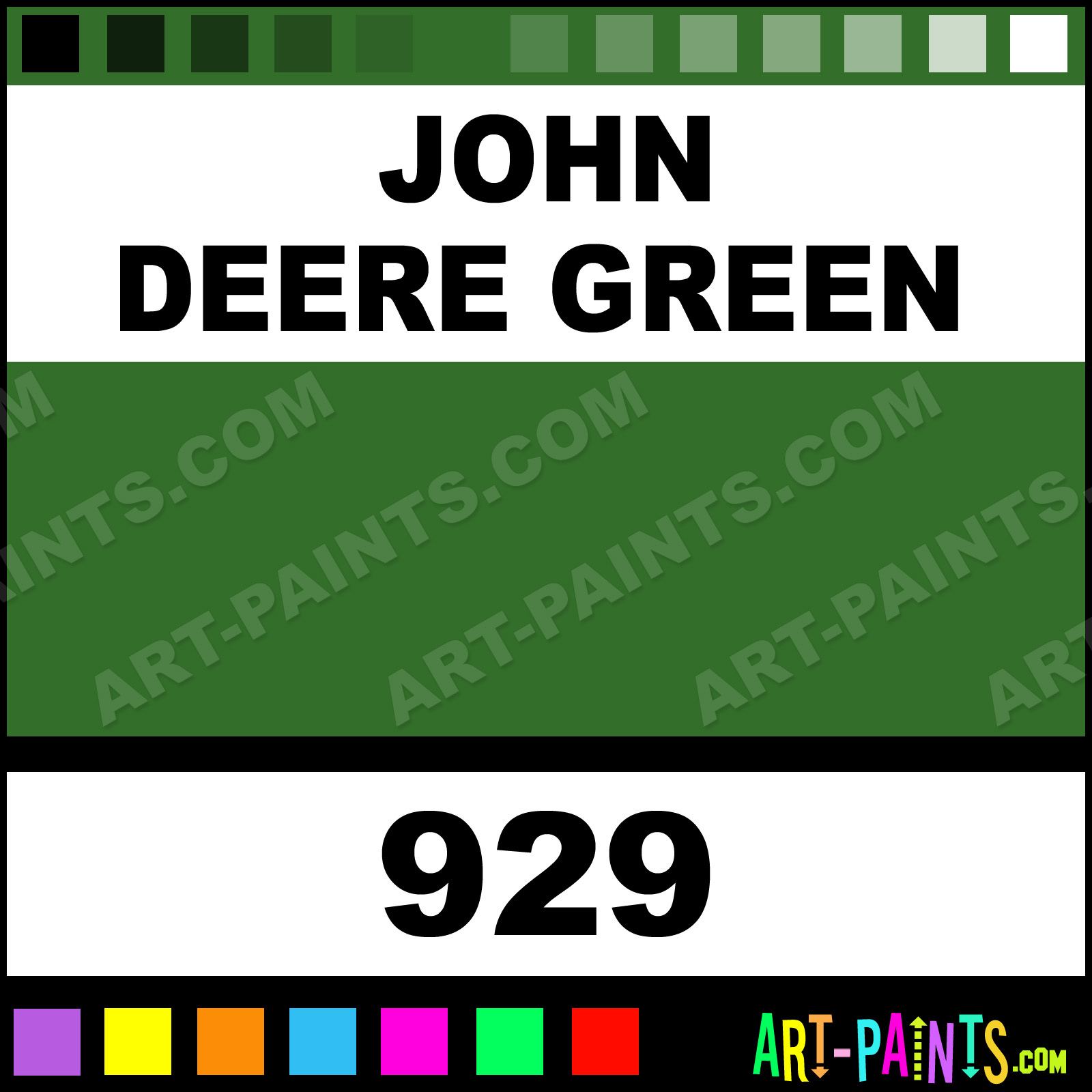 John Deere Room Paint Colors http://www.art-paints.com/Paints/Spray/Orr-Lac/Heavy-Duty-Auto/John-Deere-Green/John-Deere-Green.html