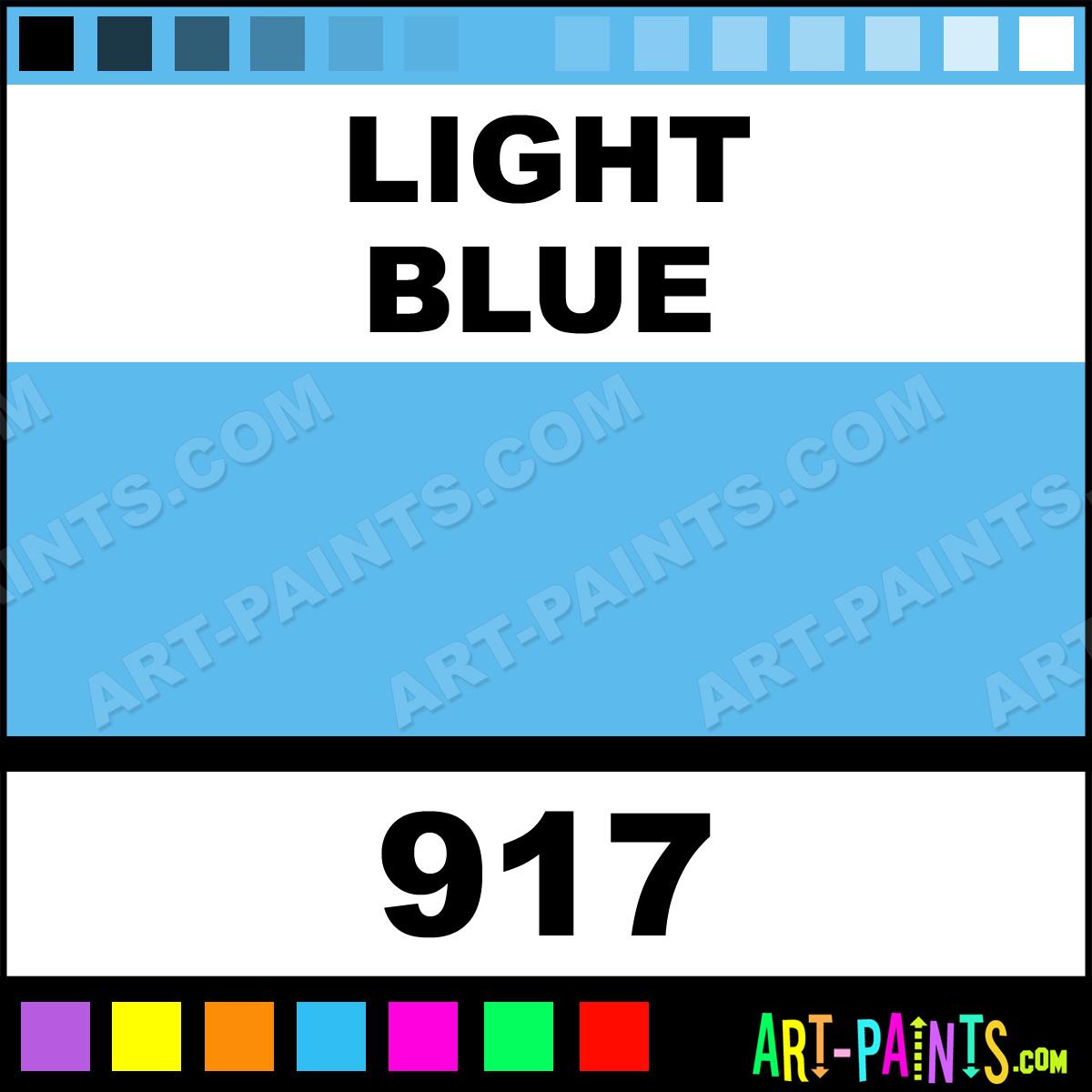 Light Blue Heavy Duty Auto Spray Paints 917 Light Blue