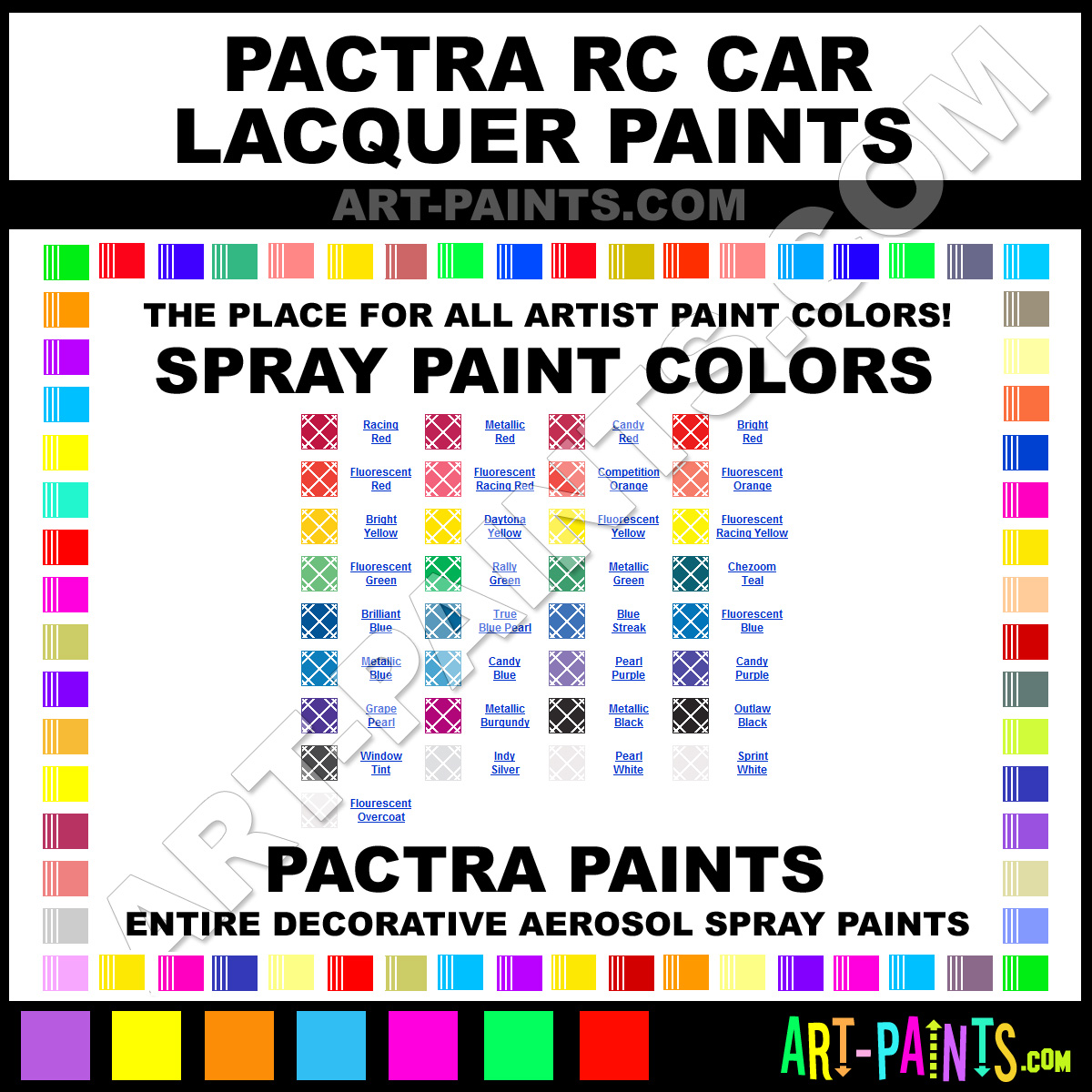 pactra rc car lacquers spray paint colors pactra rc car. Black Bedroom Furniture Sets. Home Design Ideas
