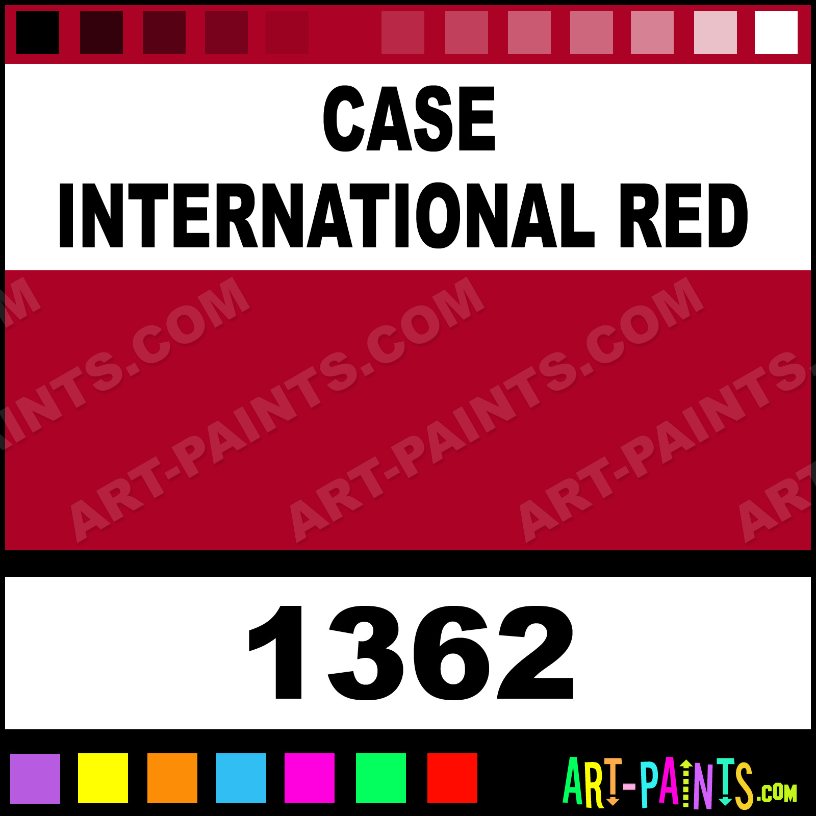 Case International Red Xlg