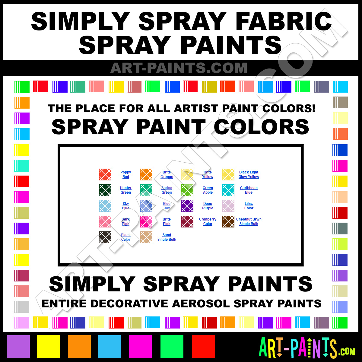 where can i buy fabric spray paint in manhattan chacha. Black Bedroom Furniture Sets. Home Design Ideas