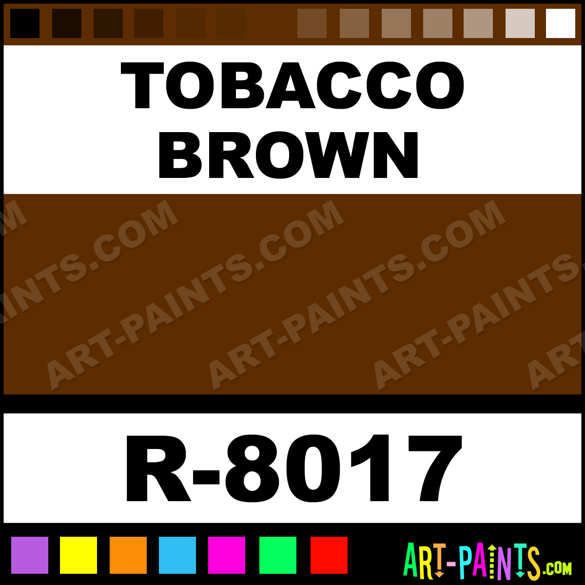 Tobacco Brown Aerosol Spray Paints Aerosol Decorative