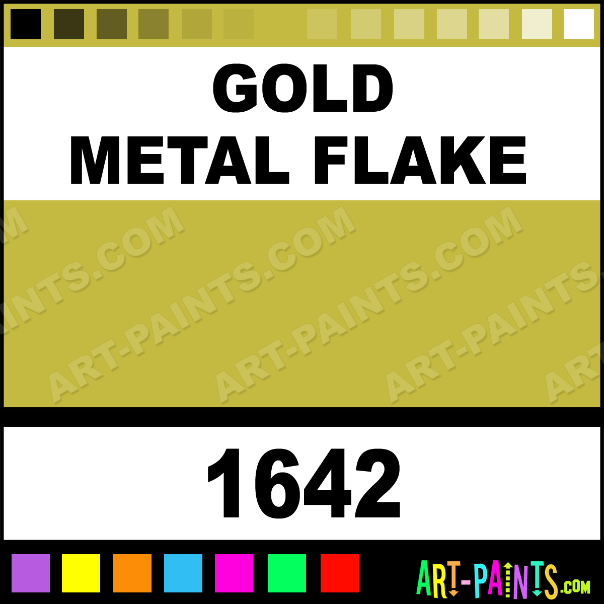 Gold Paint For Metal Gold Metal Flake Spray Paint