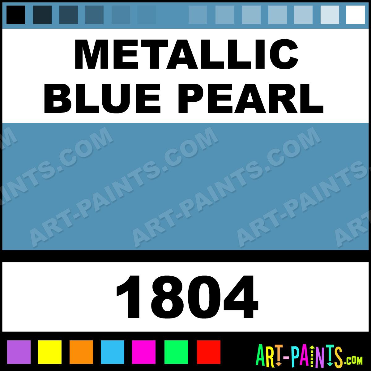 Metallic Blue Pearl Enamel Spray Paints Aerosol