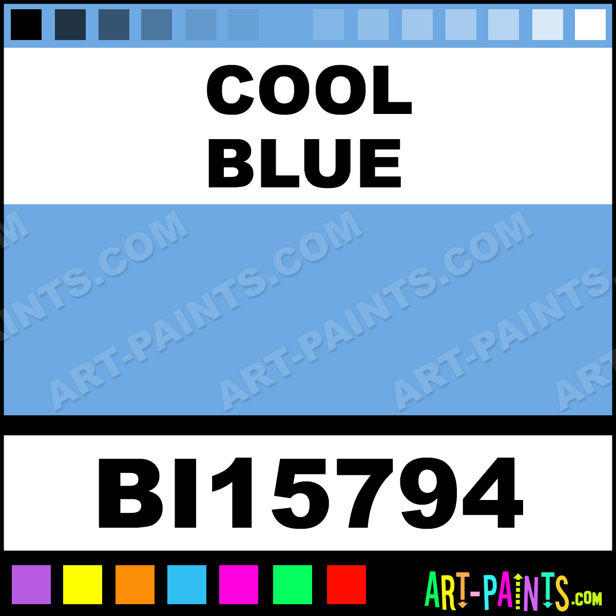 Cool Blue Soft Matte Spray Paints Bi15794 Cool Blue Paint Cool Blue Color Tulip Soft Matte