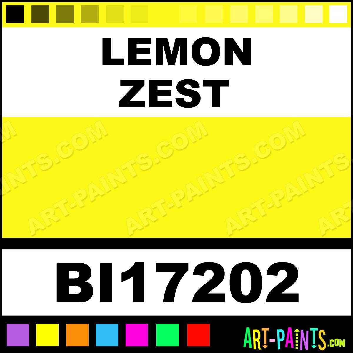 lemon zest color - photo #19