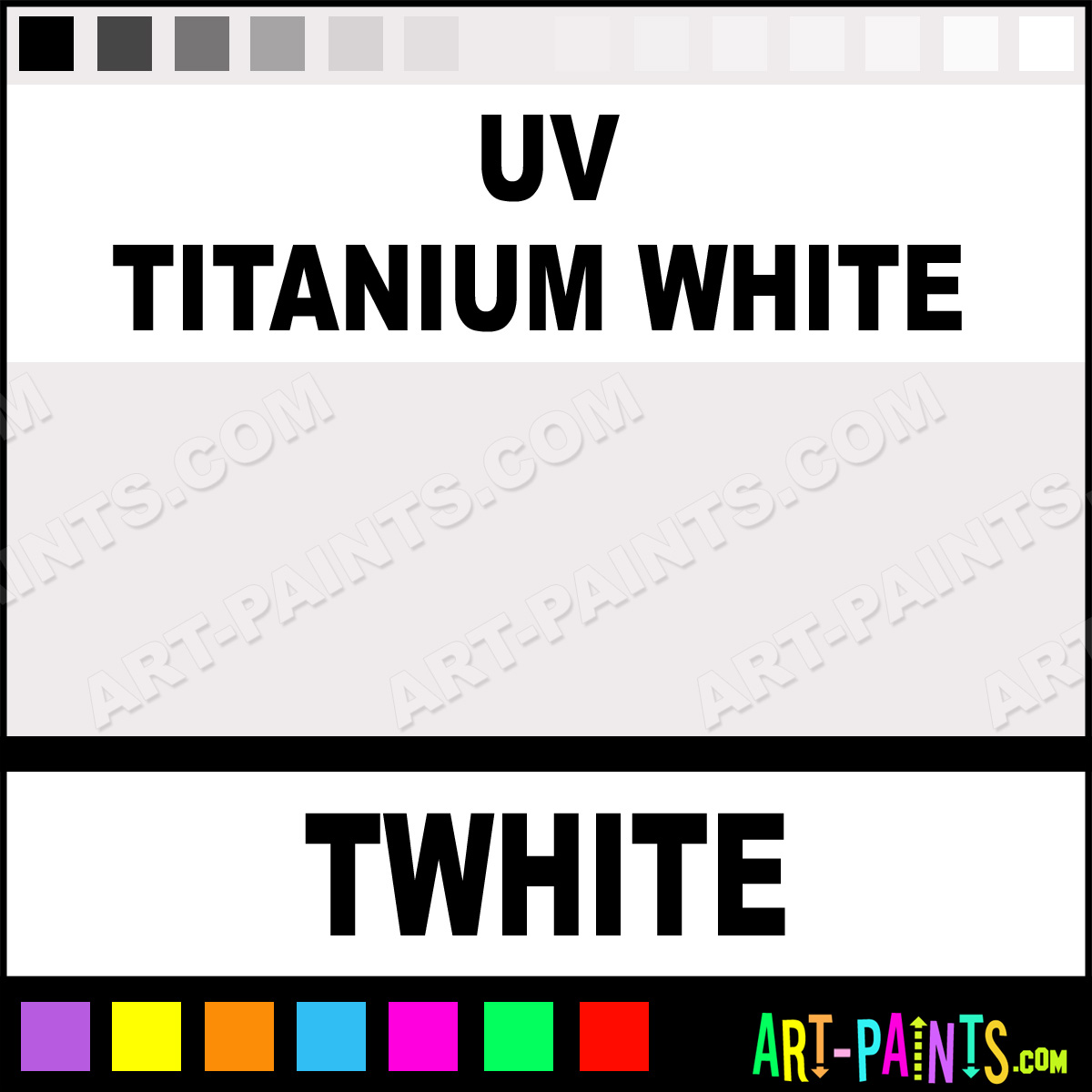 UV Titanium White Paint TWhite