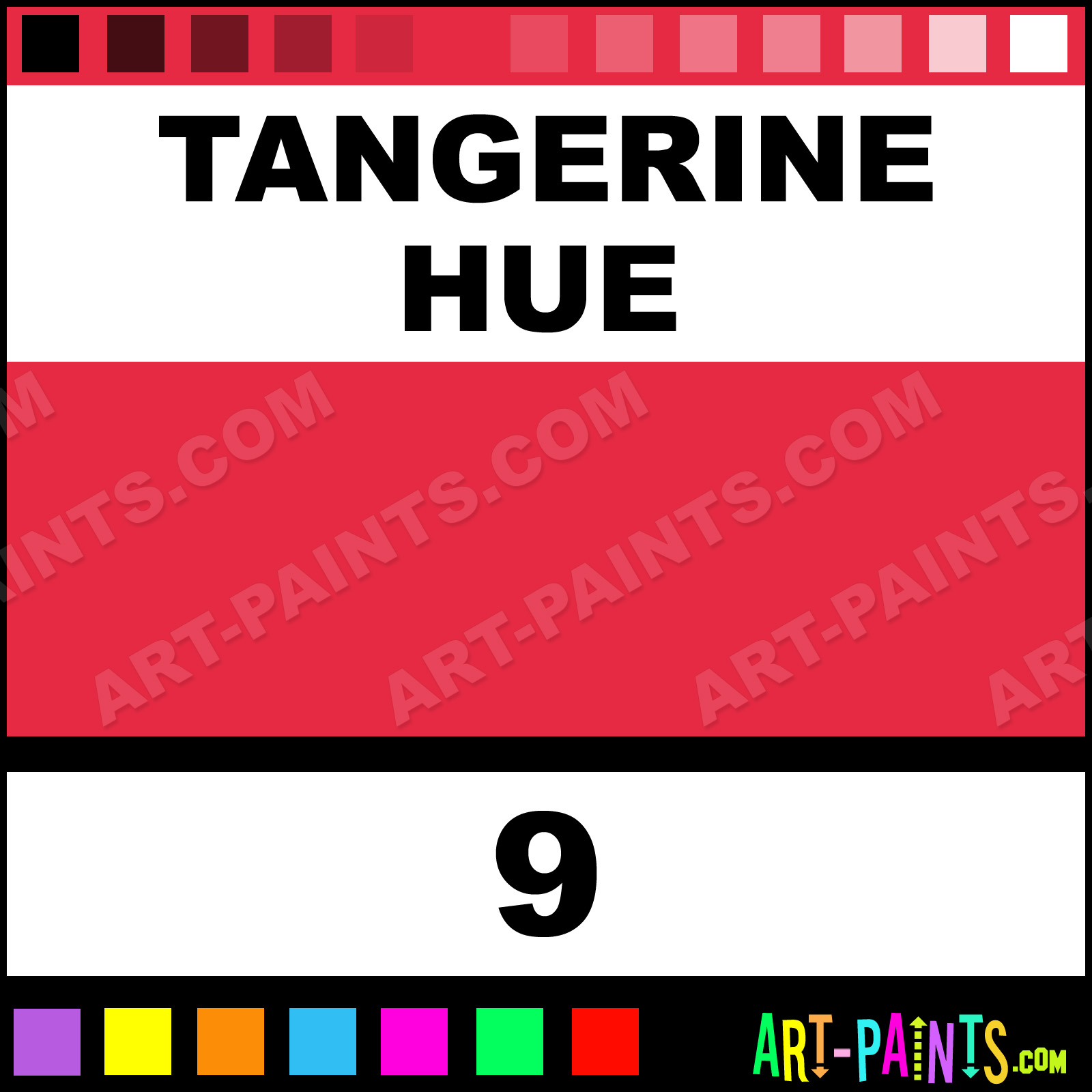 Tangerine Bottle Tattoo Ink Paints 9 Tangerine Paint Tangerine