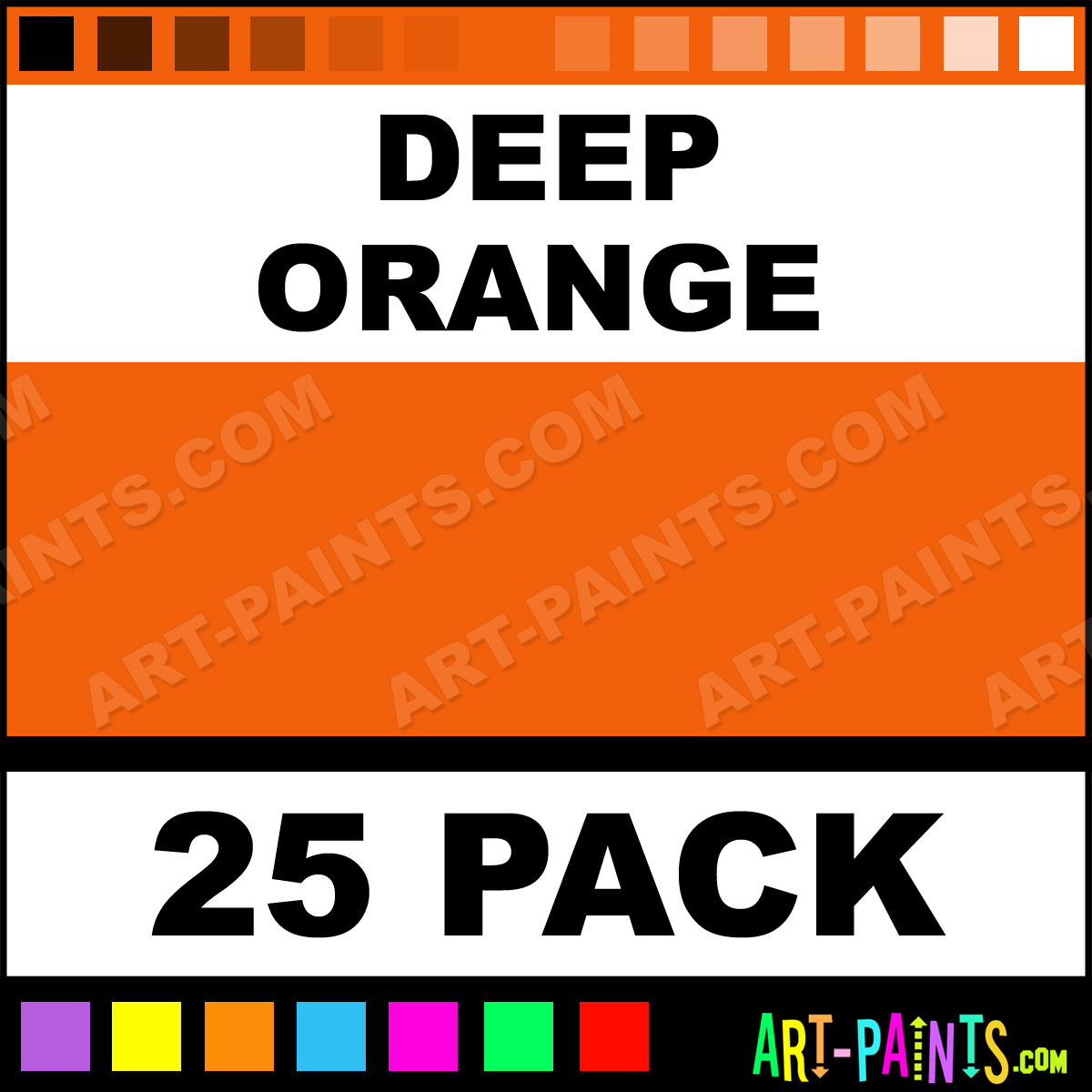 deep orange paint deep orange color immortal predispersed paint
