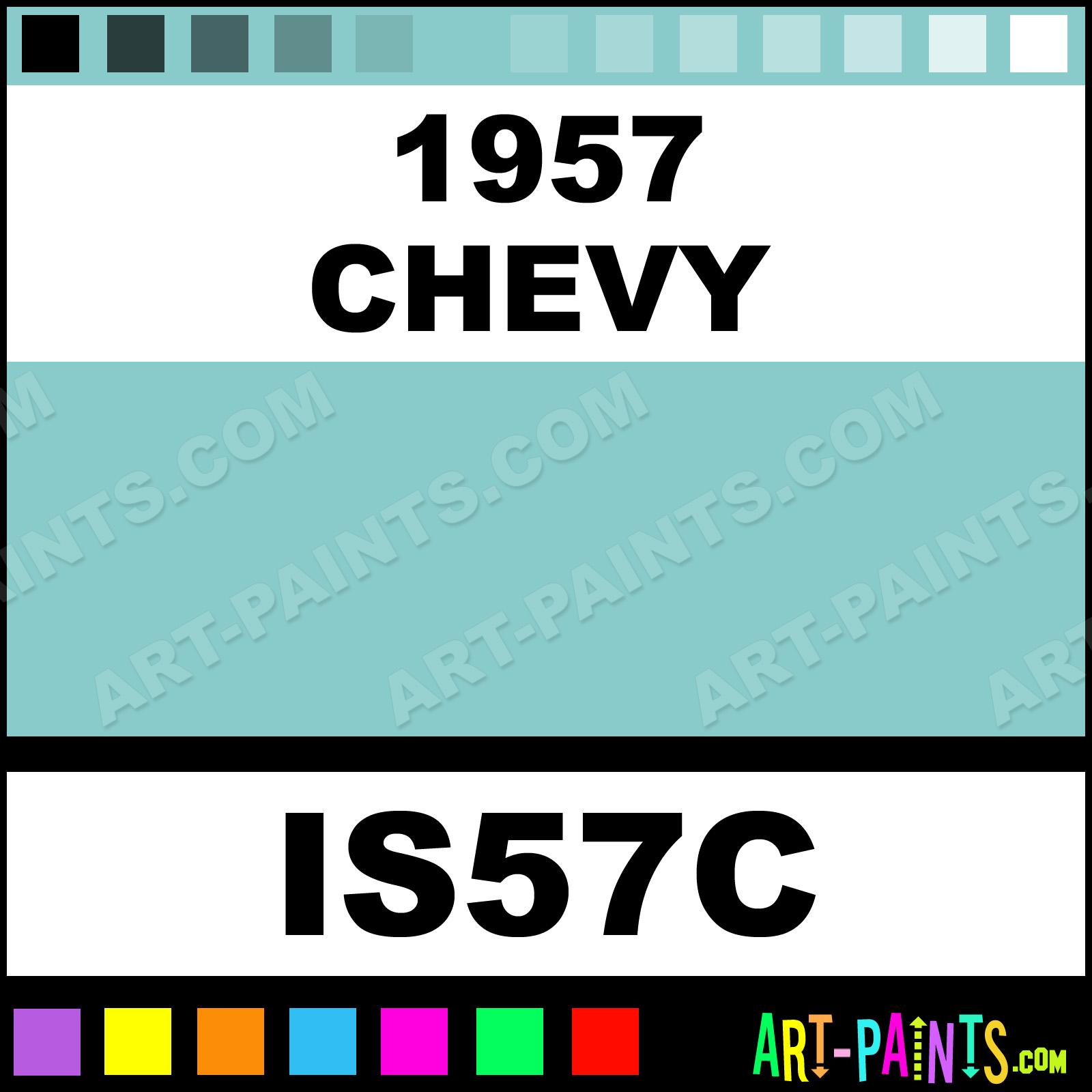 1955 chevy paint colors