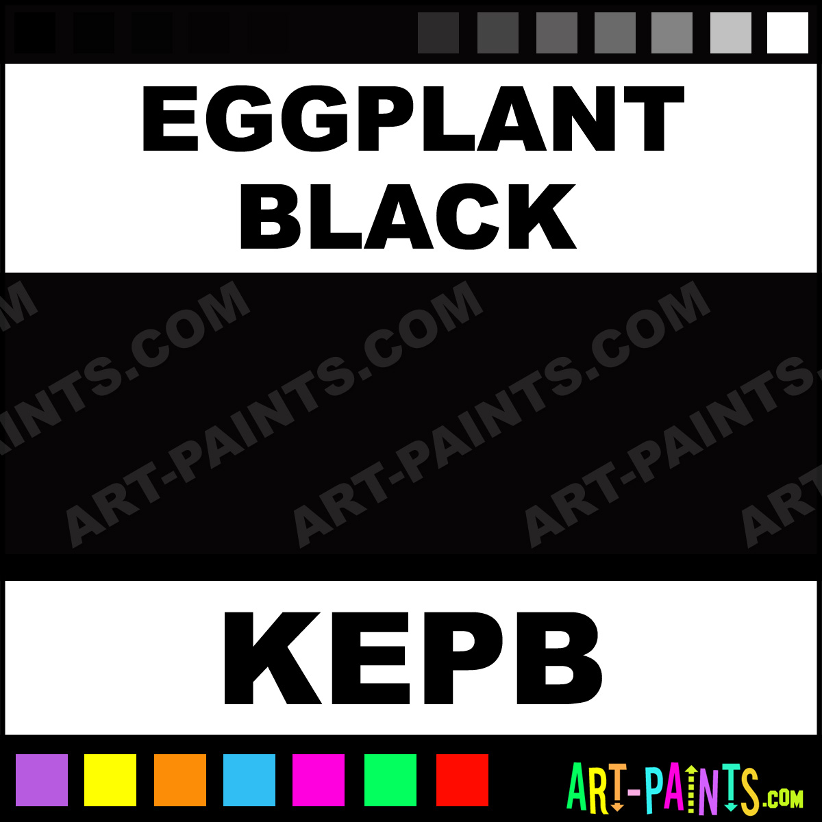 Eggplant Color Spray Paint