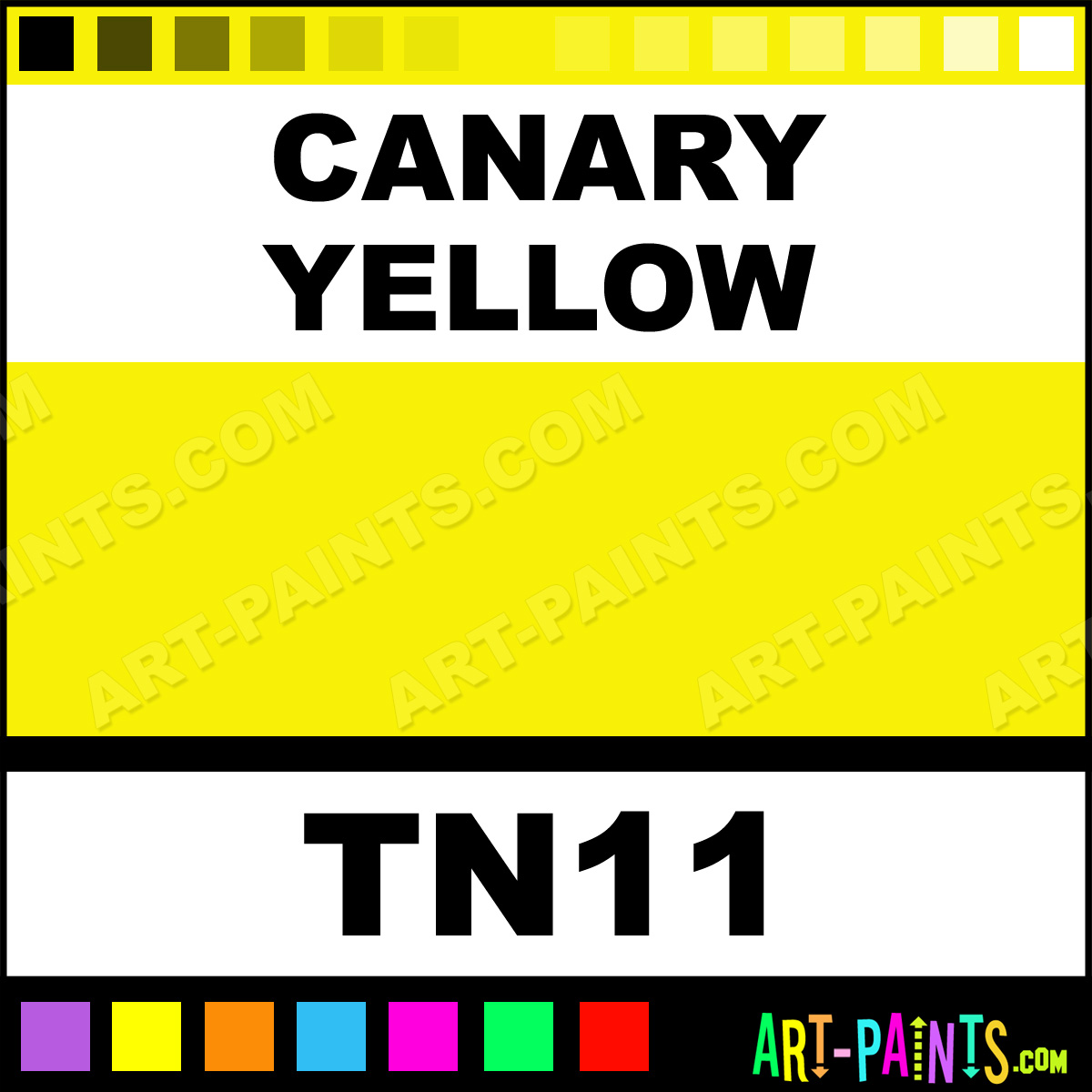 Canary Yellow Dry Powder Tattoo Ink Paints Tn11 Canary Yellow Paint Canary Yellow Color