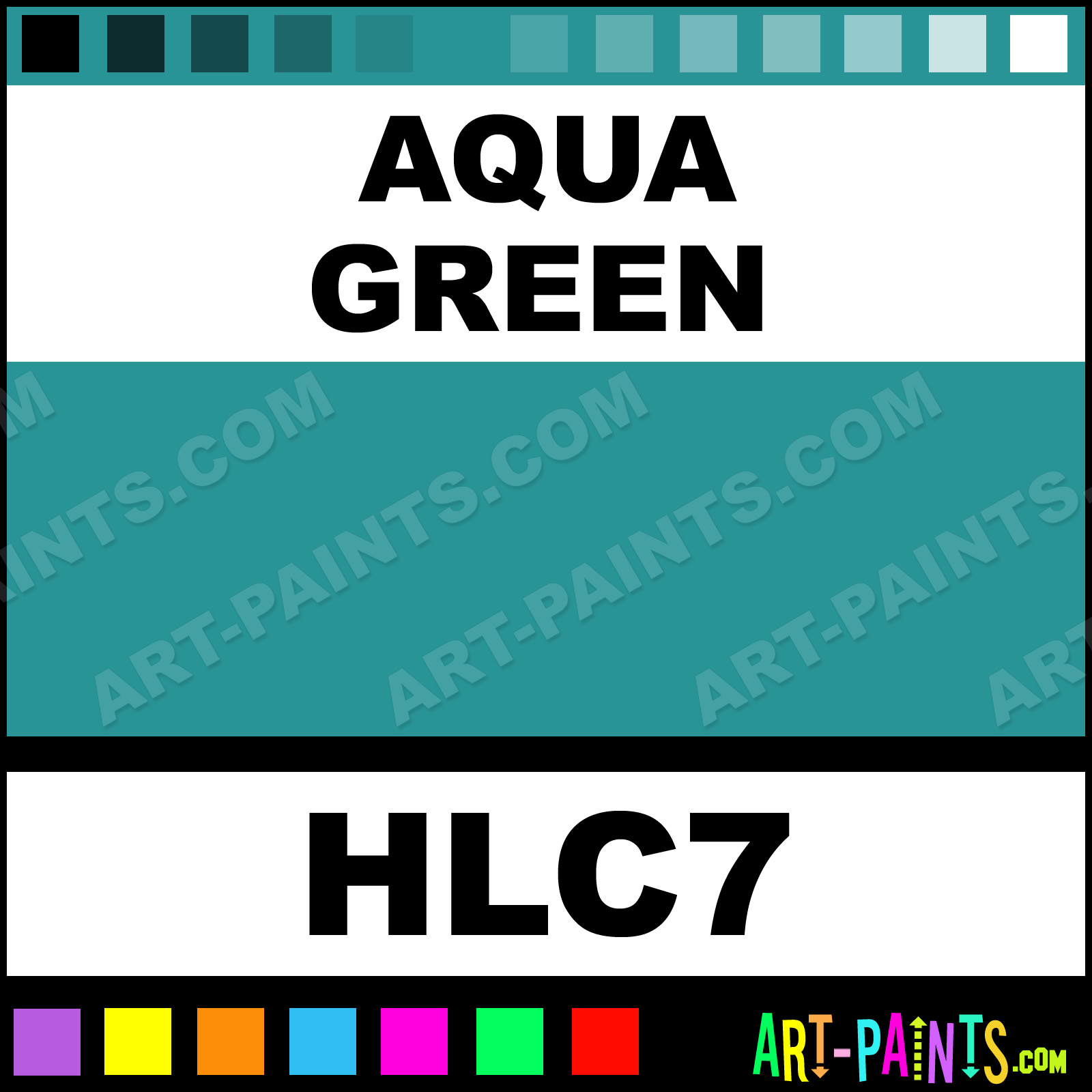 room color schemes with light aqua | ... color cards this ...  |Aqua Green Color Paint