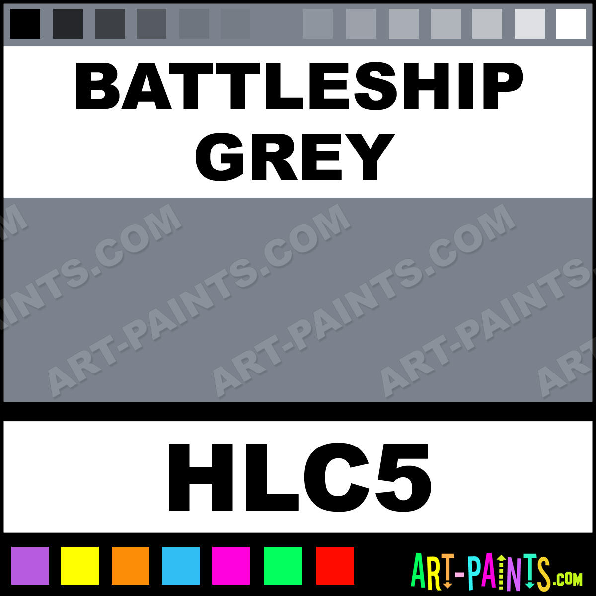 Battleship Grey Colour Battleship Grey