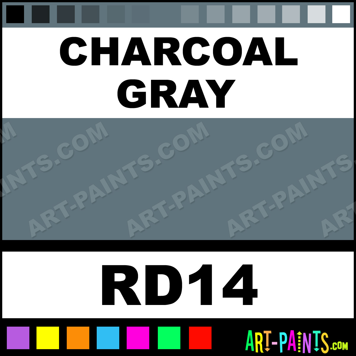 Charcoal gray ink tattoo ink paints rd14 charcoal gray for Charcoal gray paint