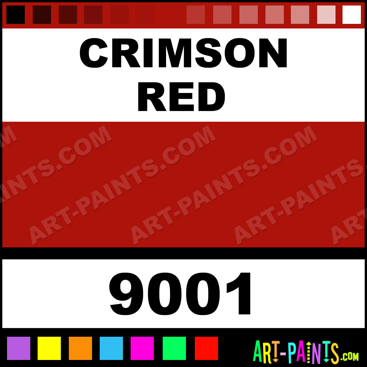 Crimson Red Tattoo Colors Tattoo Ink Paints 9001