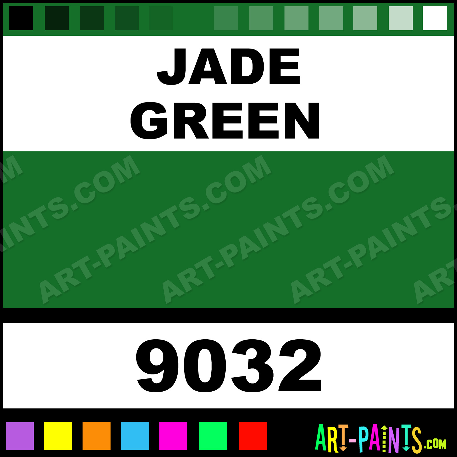 Jade Green Tattoo Colors Tattoo Ink Paints 9032 Jade Green Paint Jade Green Color