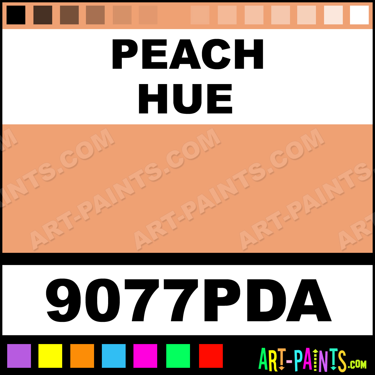 peach ink tattoo ink paints 9077pda peach paint peach color