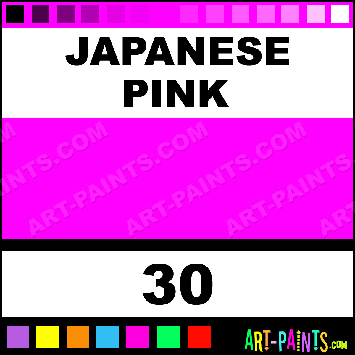 Japanese pink ink tattoo ink paints 30 japanese pink for Waverly tattoo ink