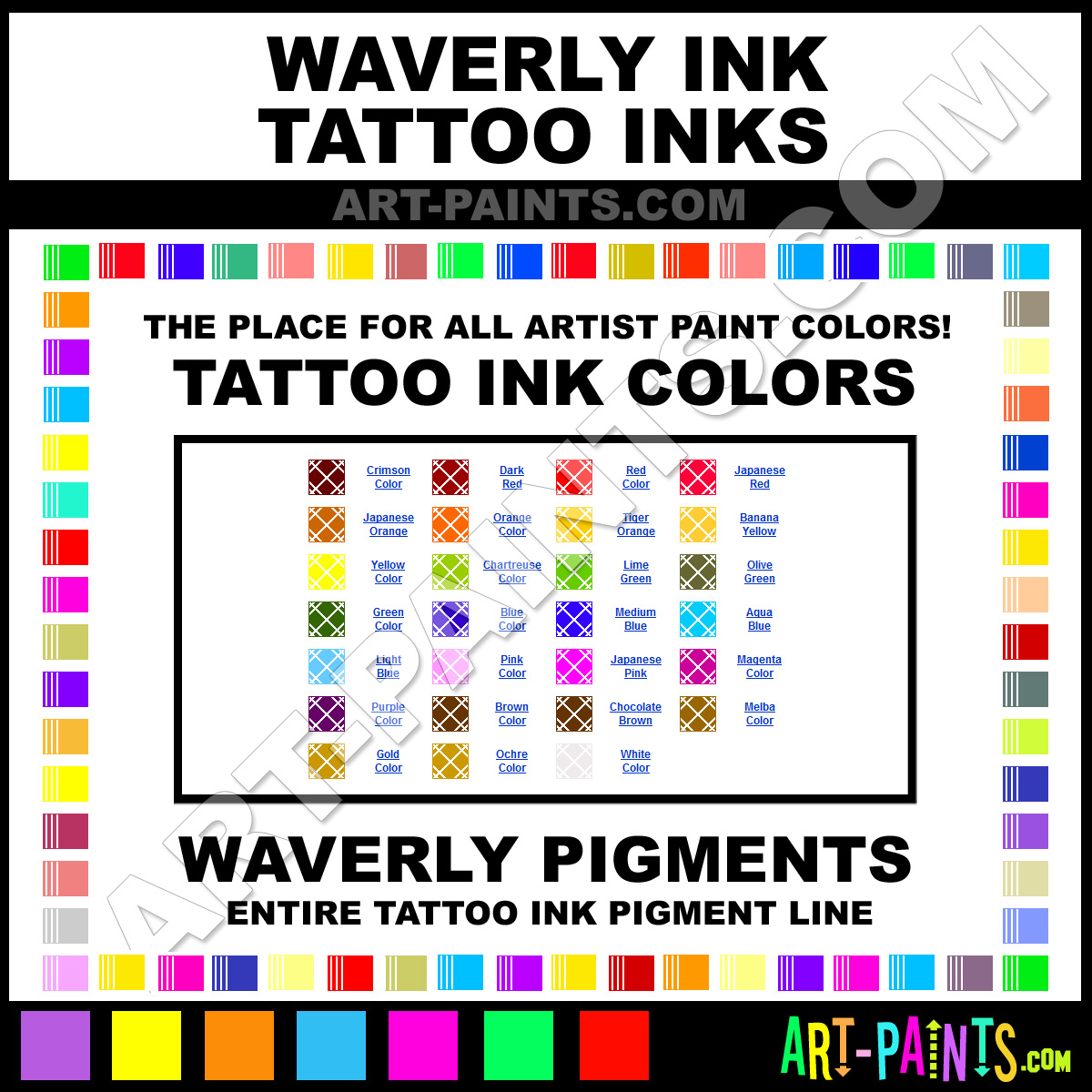 Purple ink tattoo ink paints 15 purple paint purple for Waverly tattoo ink