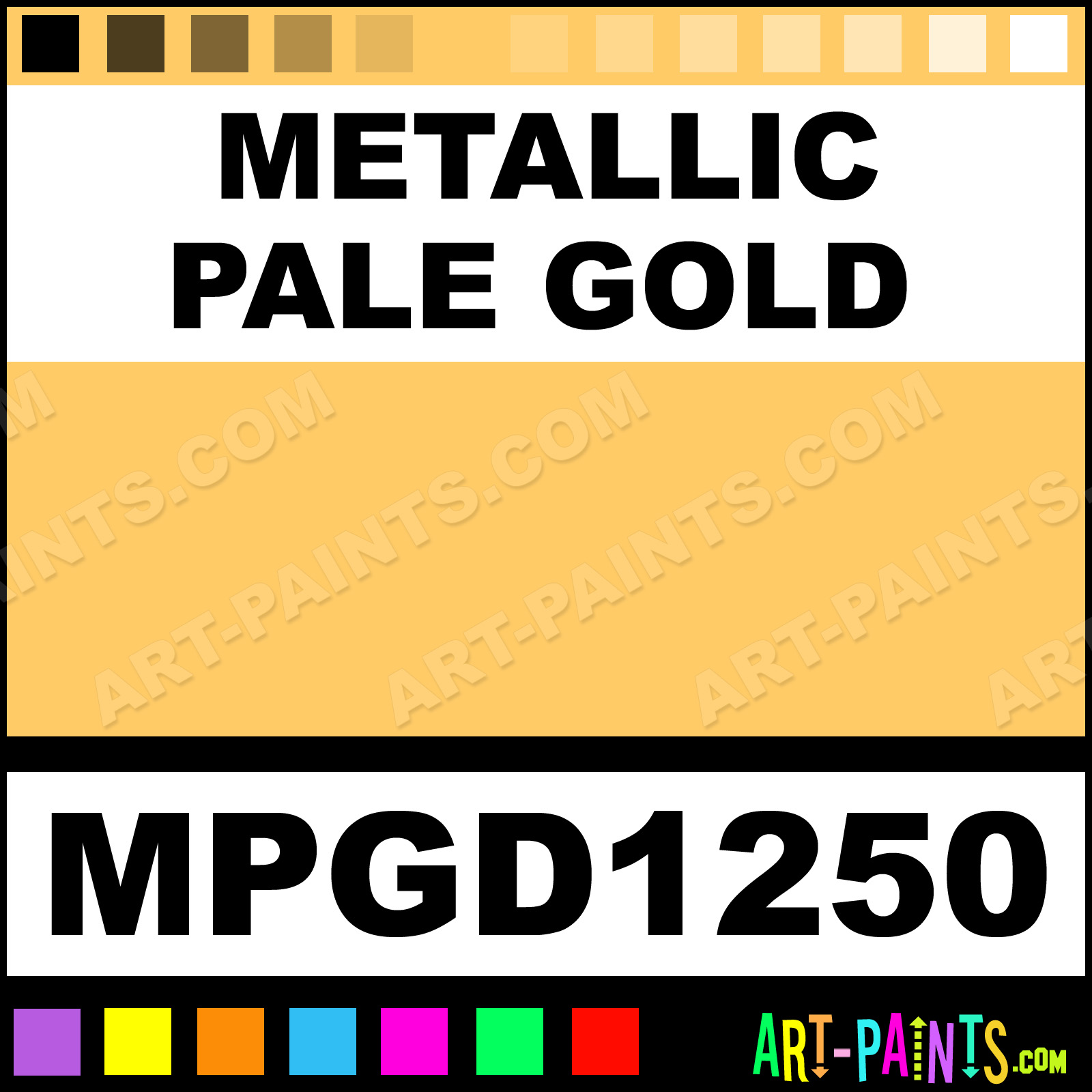 Gold Paint For Metal Metallic Pale Gold Paint