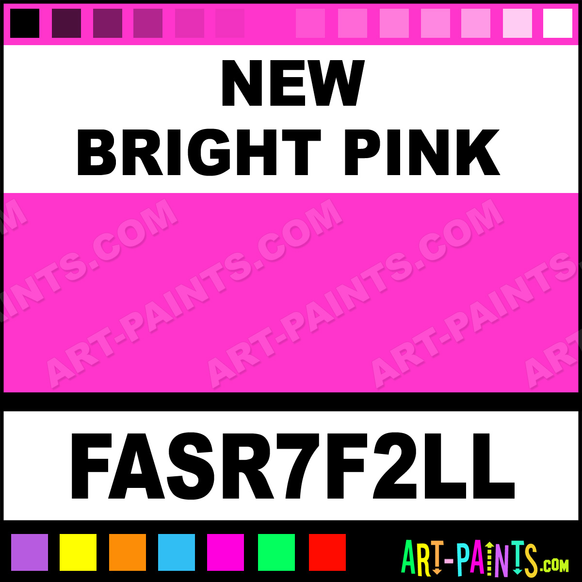 New Bright Pink Paint Fasr7f2ll By Fas