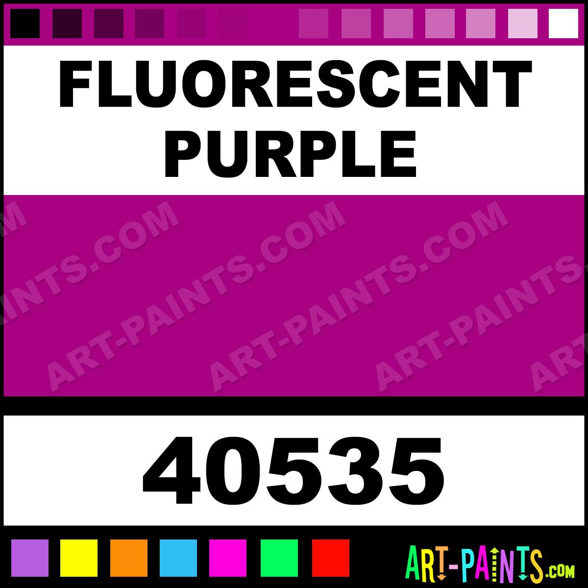 Fluorescent Purple Jazz Matte Egg Tempera Paints 40535 Fluorescent Purple Paint Fluorescent