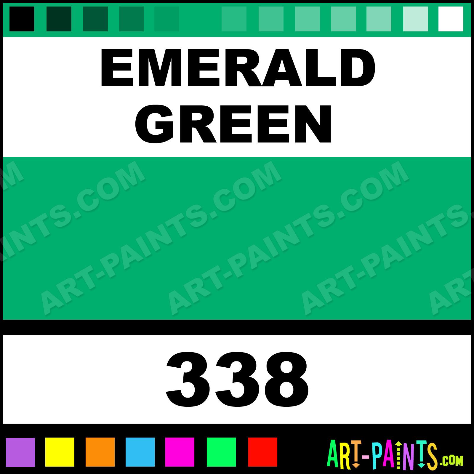 Aquafine Paints Emerald Green Student Watercolor