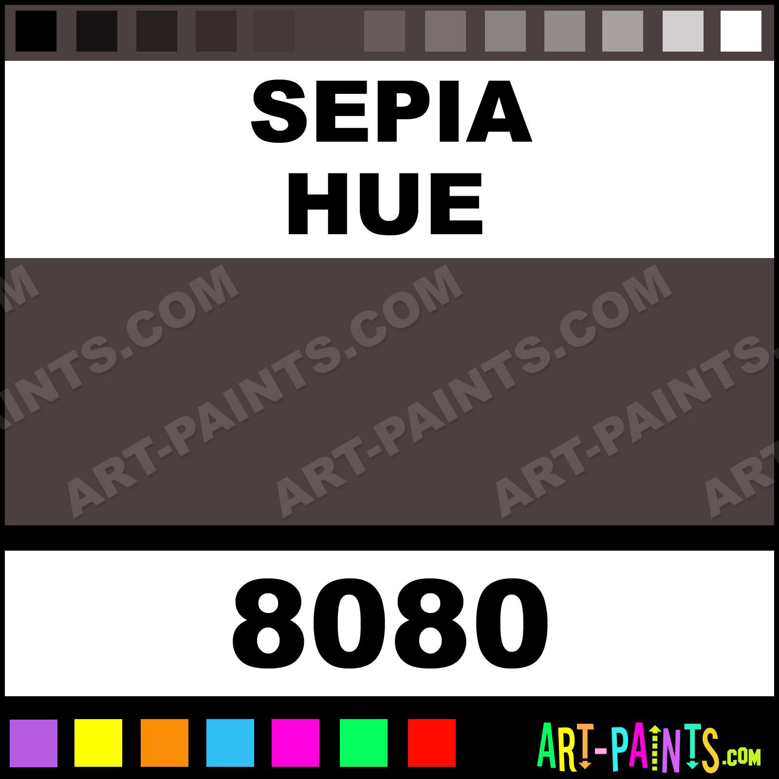 Sepia Colors Watercolor Paints 8080 Sepia Paint Sepia Color