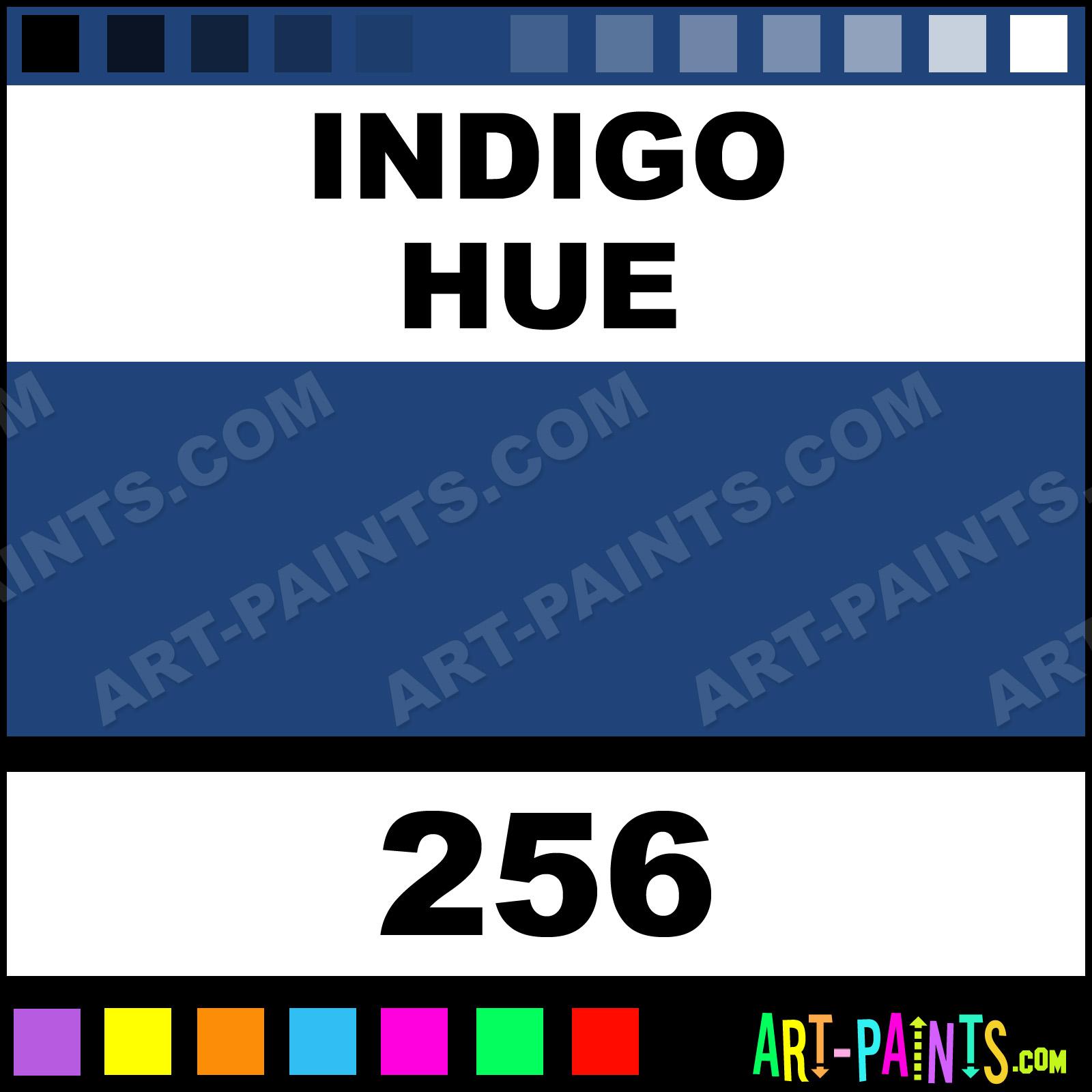 indigo aquarelle watercolor paints - 256 - indigo paint, indigo