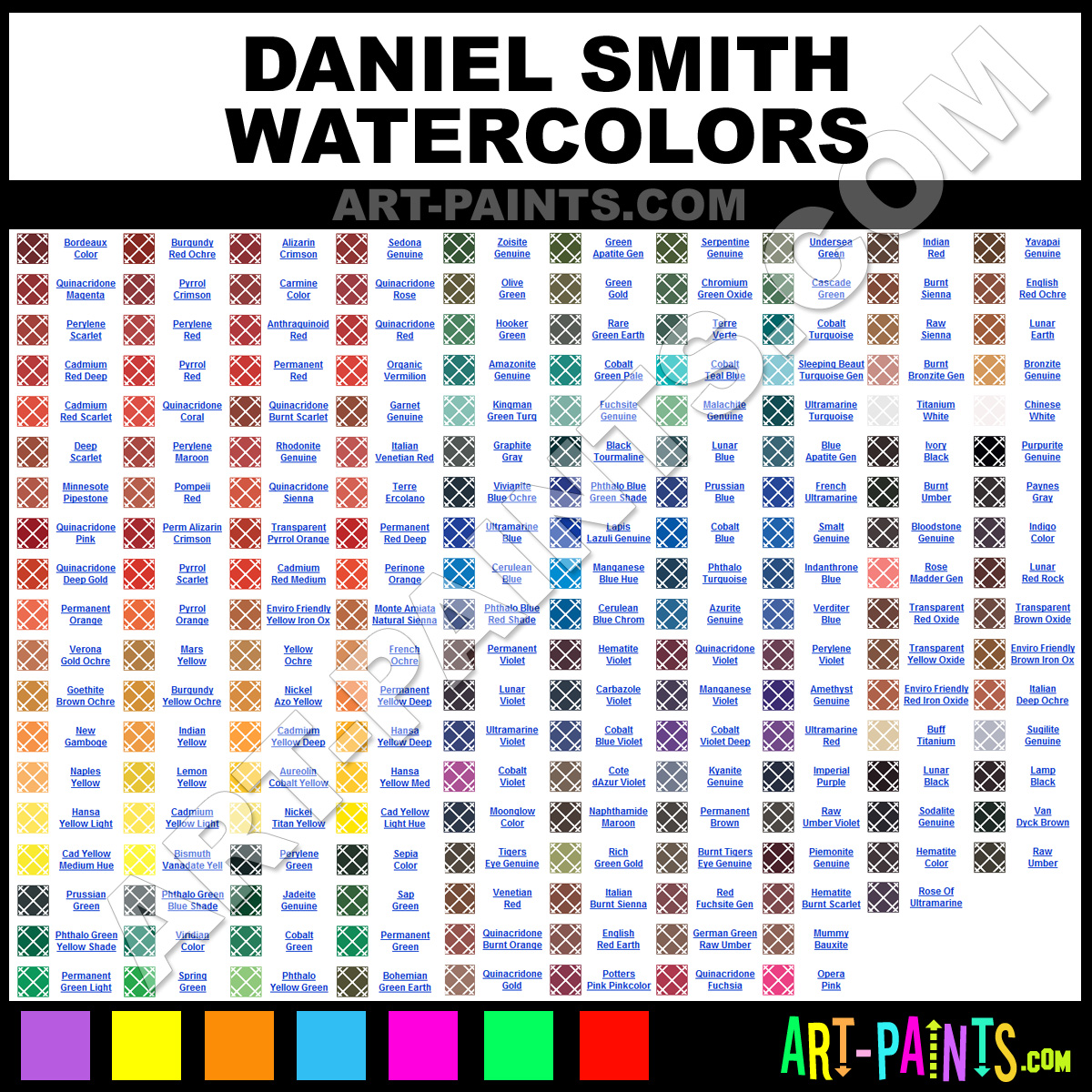 Daniel Smith Watercolor Paint Brands Daniel Smith Paint