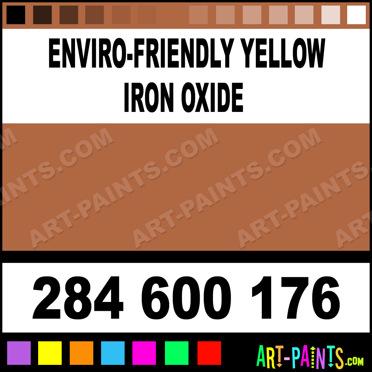 Enviro Friendly Yellow Iron Oxide Extra Fine Watercolor