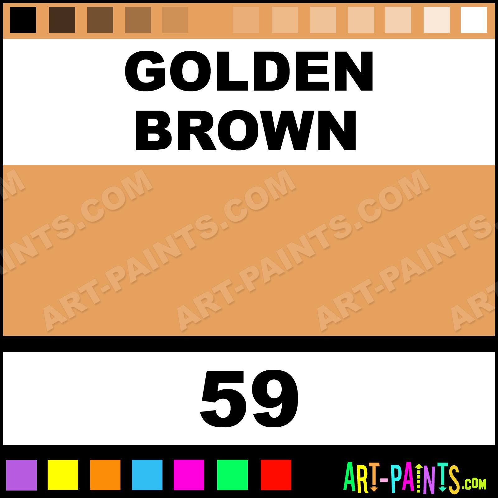 Derwent Paints Golden Brown Artist Watercolor