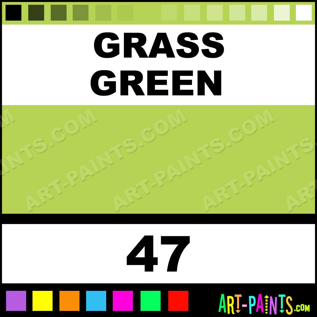 Grass Green Artist Watercolor Paints 47 Grass Green