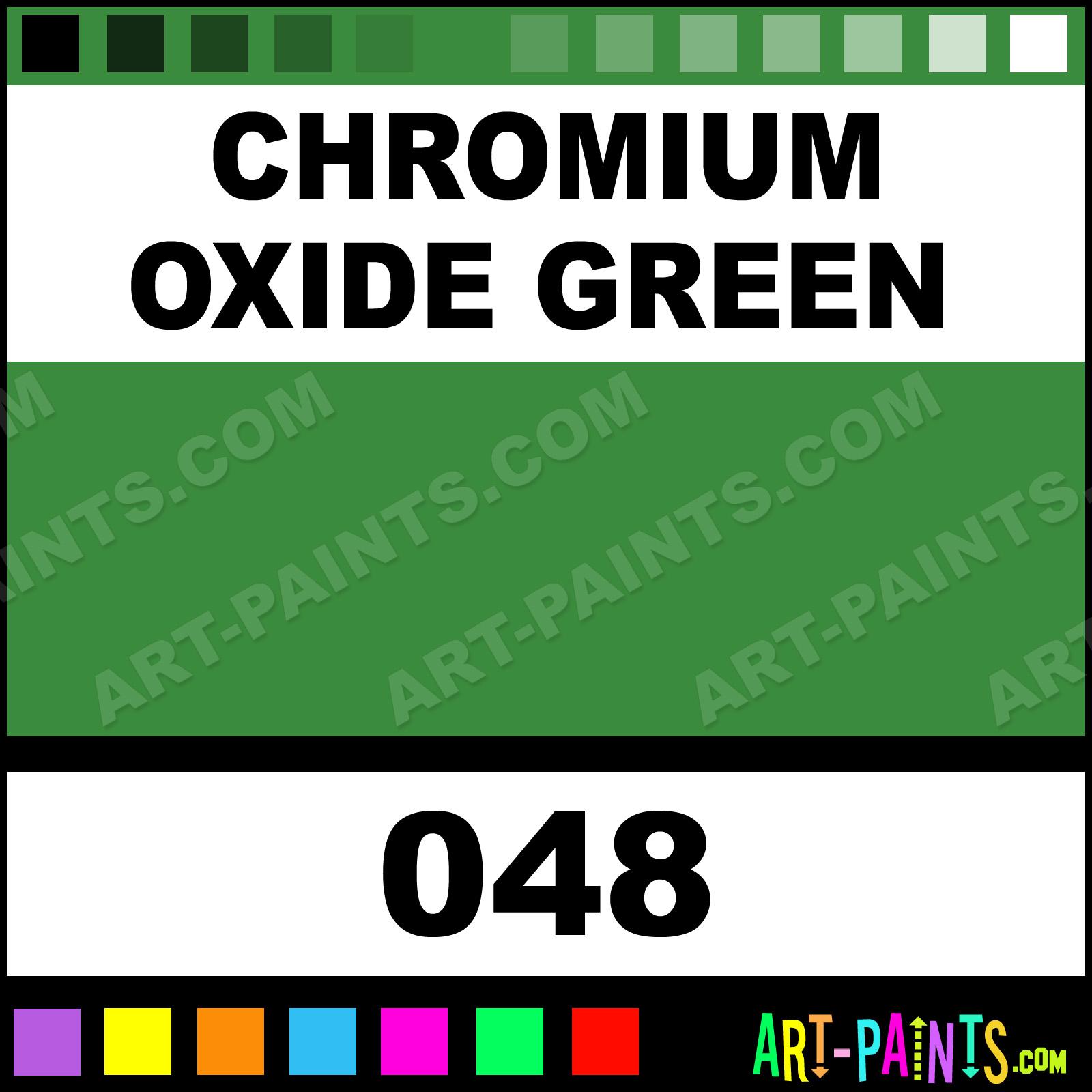 Chromium Oxide Green Finest Artists Watercolor Paints - 048