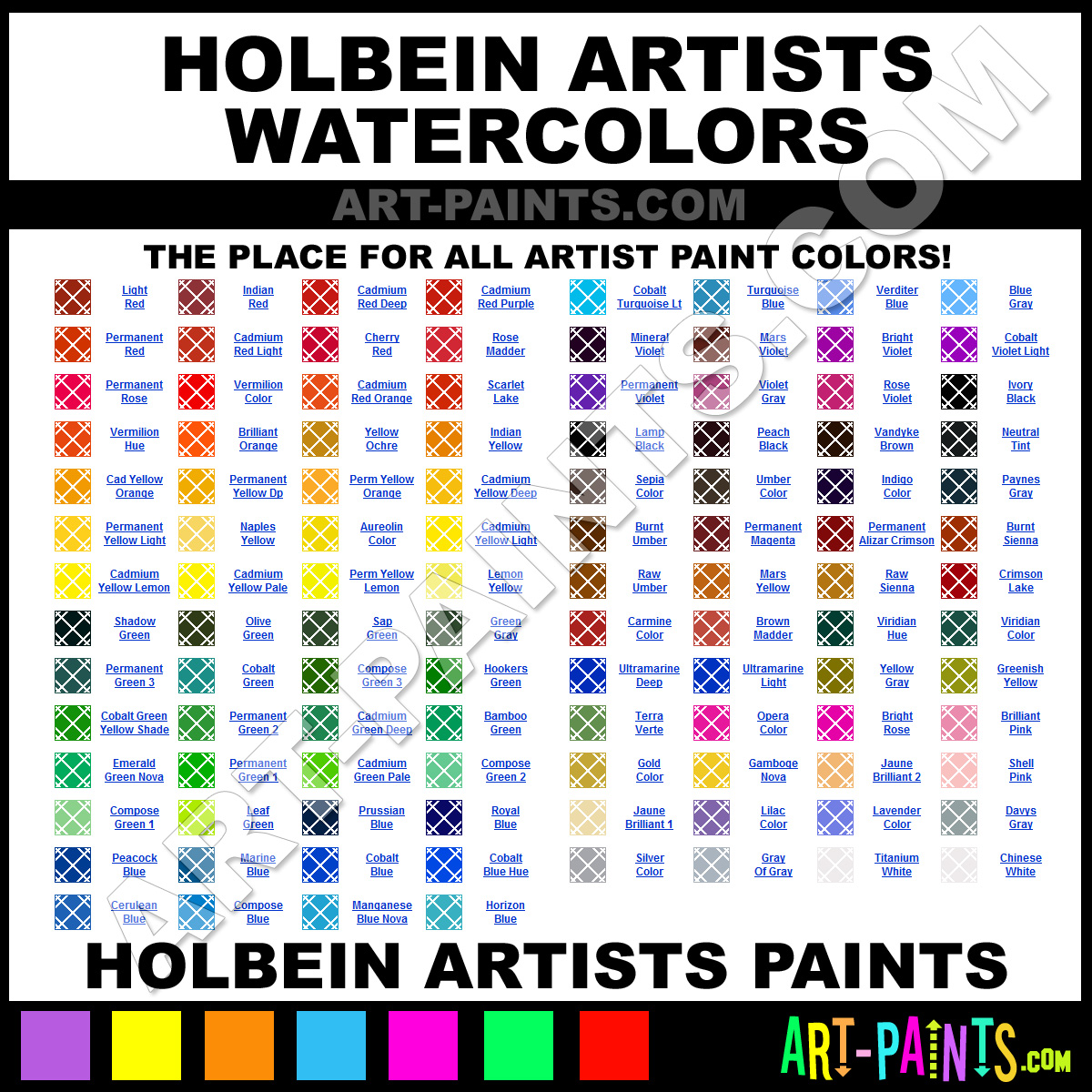 Holbein Oil Paint