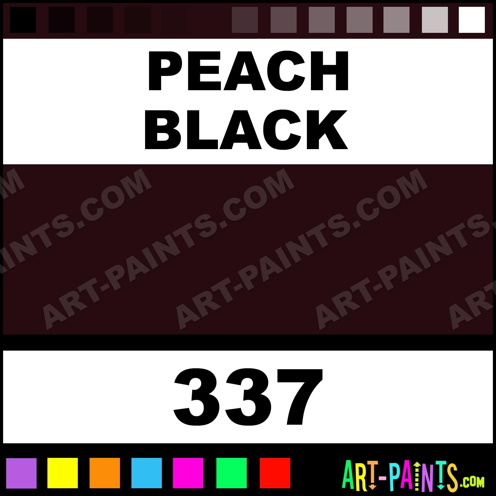 Peach black