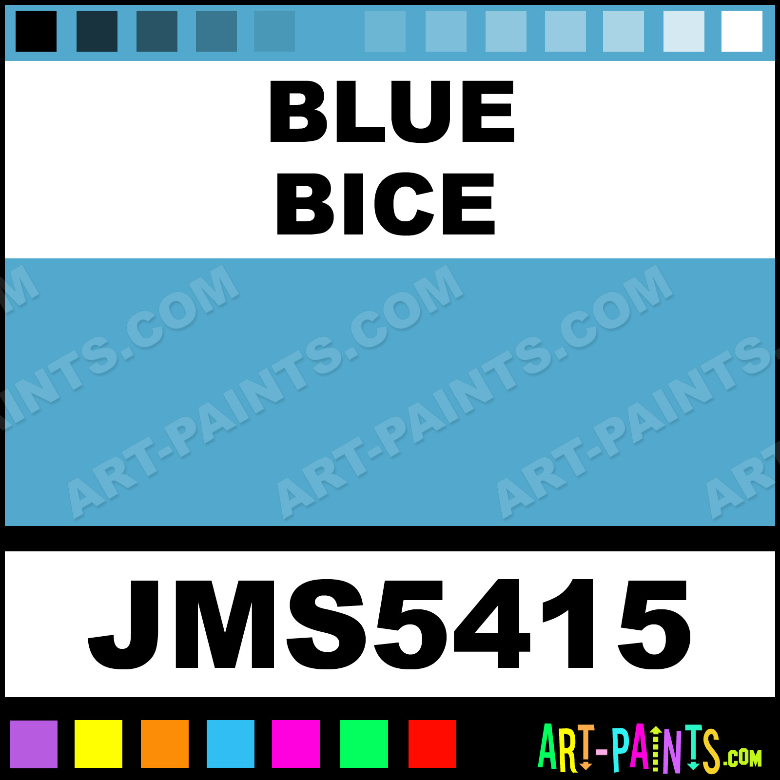 Joe Miller Paints Blue Bice Signature Watercolor