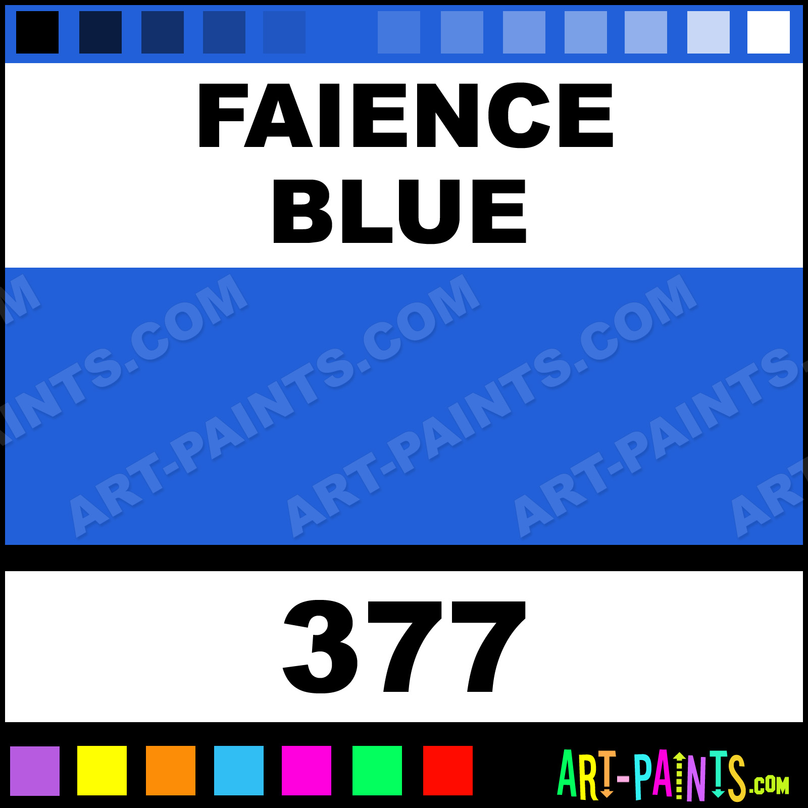 Faience Blue Blu Watercolor Paints 377 Faience Blue Paint Faience Blue Color Maimeri Blu