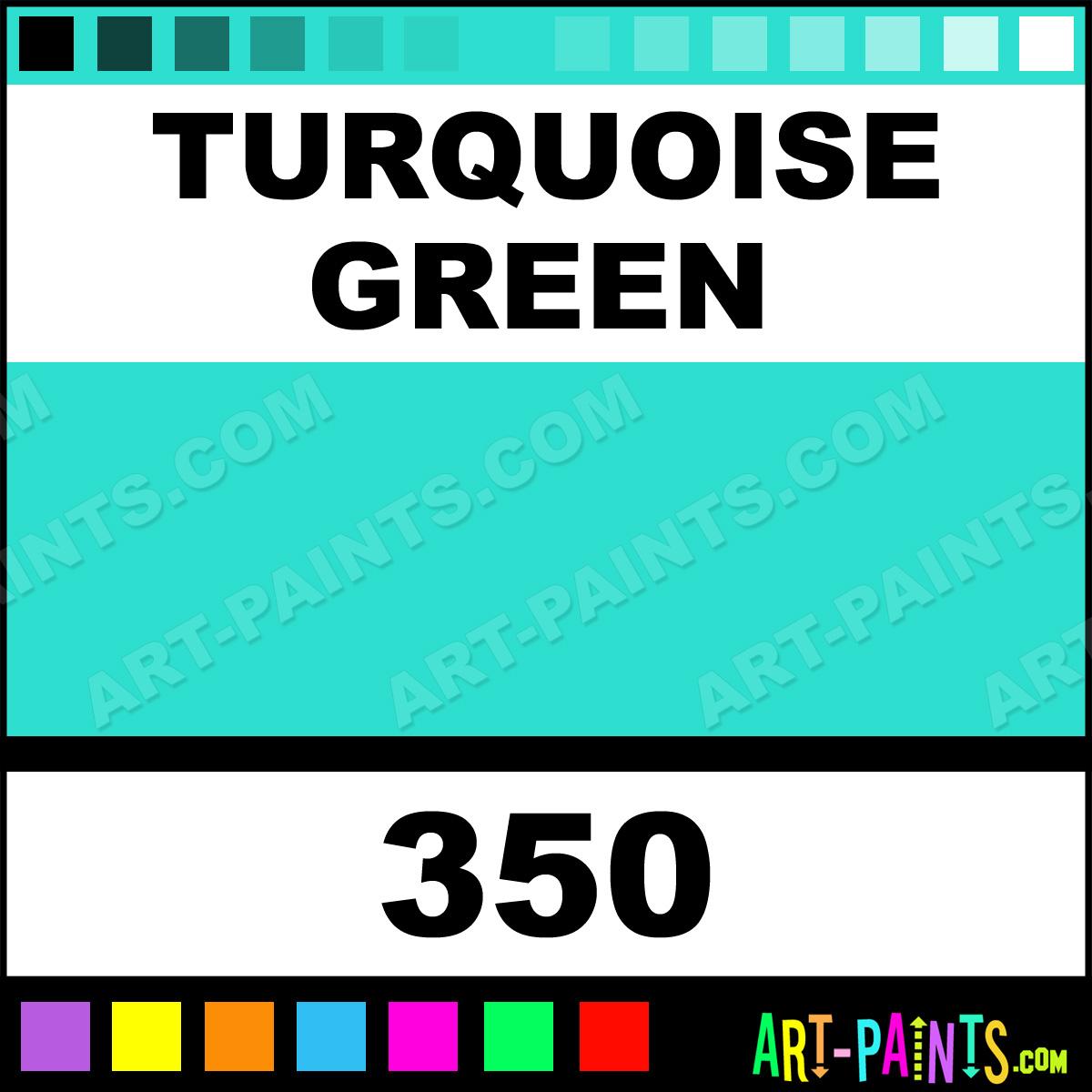 Turquoise Green Paint 350 By Maimeri Blu Paints