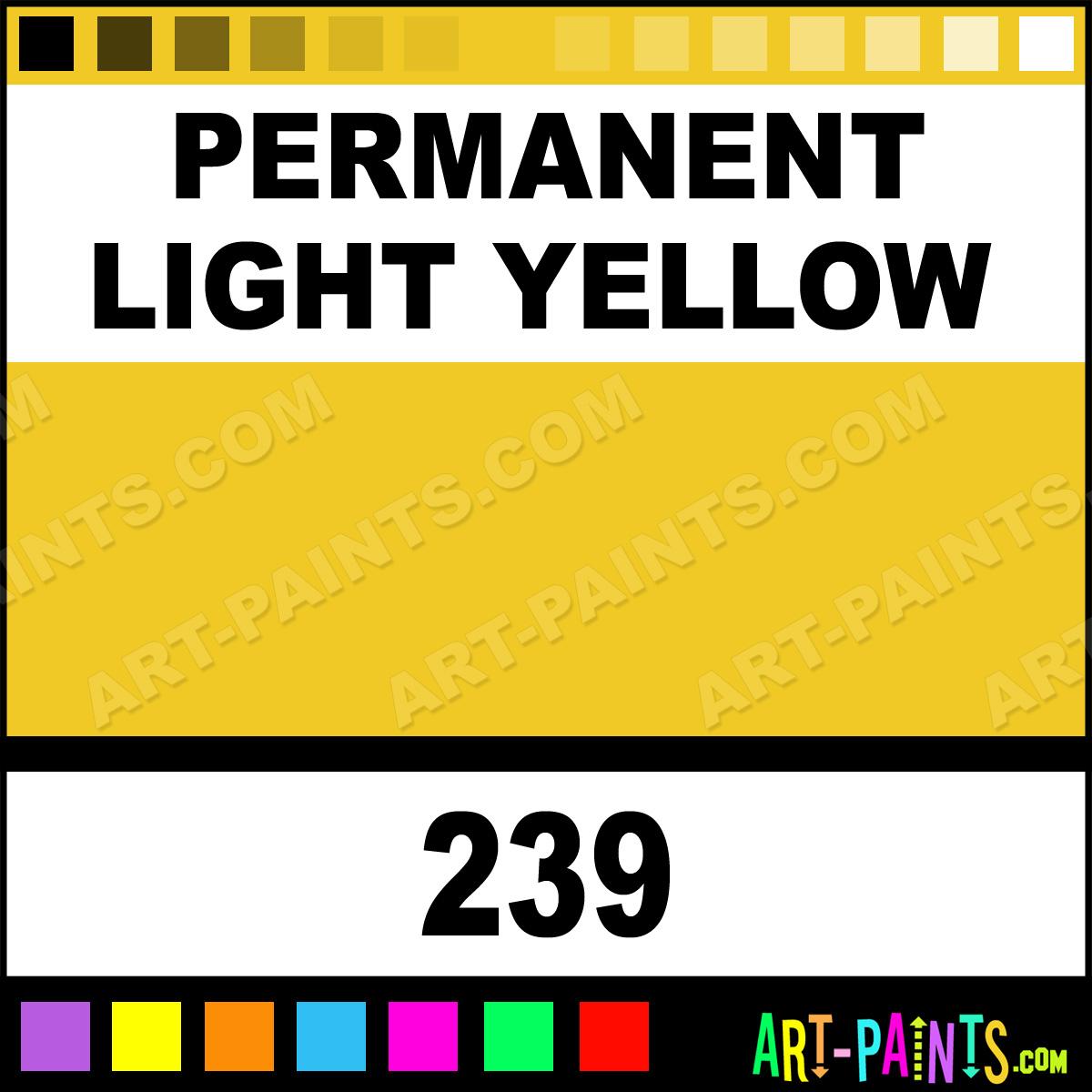 Permanent Light Yellow Fragonard Watercolor Paints 239