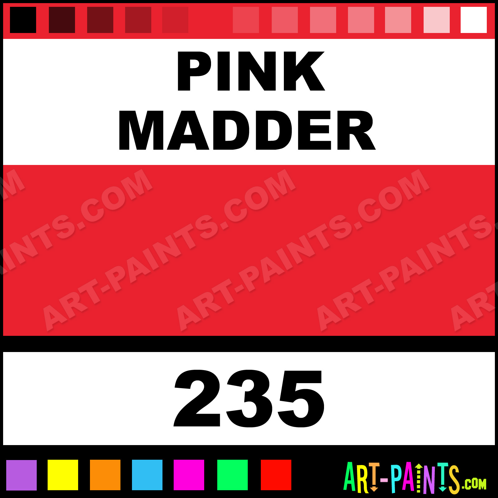 Hot Pink Pearl Paint Code